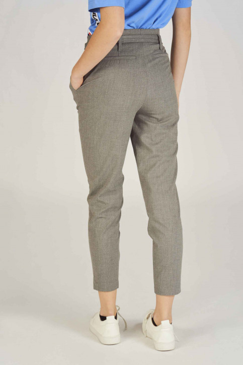 ONLY Pantalons gris 15160446_LIGHT GREY MELA img3