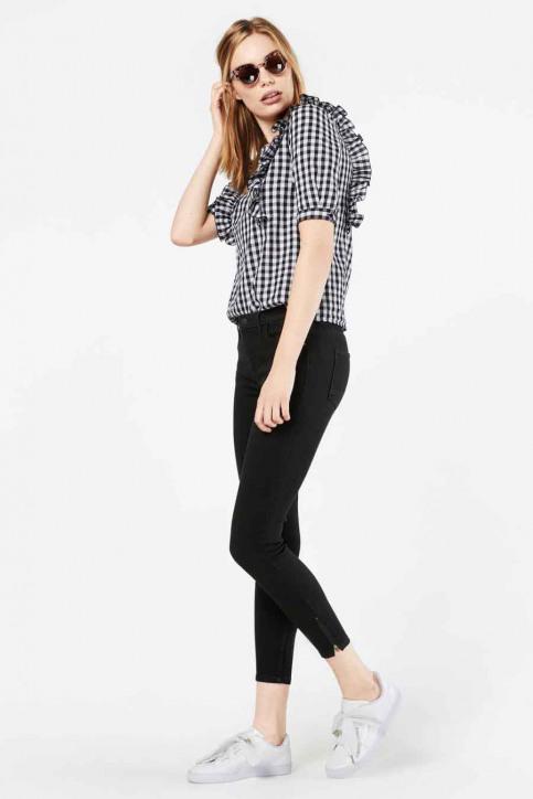 ONLY Pantalons colorés gris 15166140_PHANTOM img1