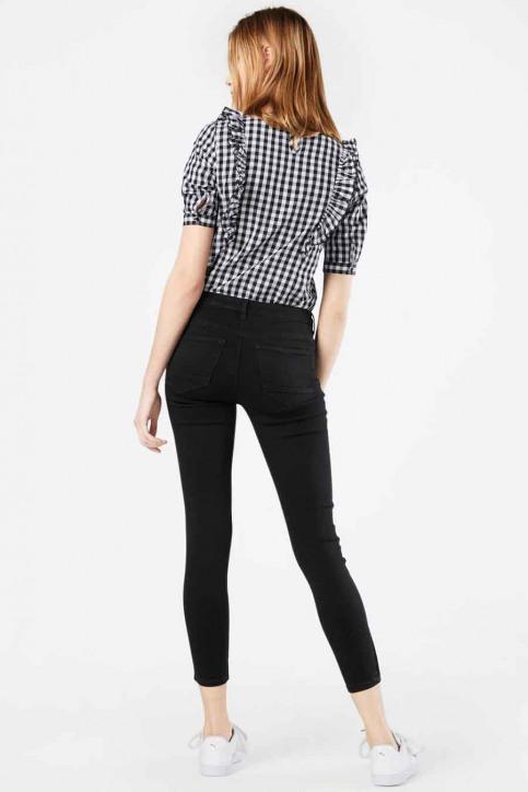 ONLY Pantalons colorés gris 15166140_PHANTOM img3