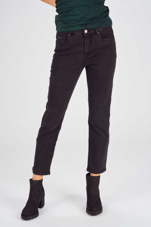 ONLY Jeans skinny gris 15167714_BJ12843BLACK D img1