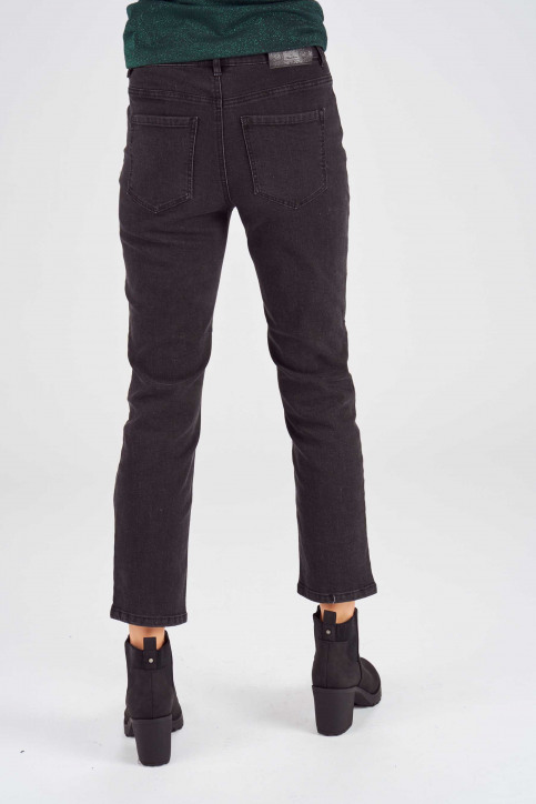 ONLY Jeans skinny gris 15167714_BJ12843BLACK D img3