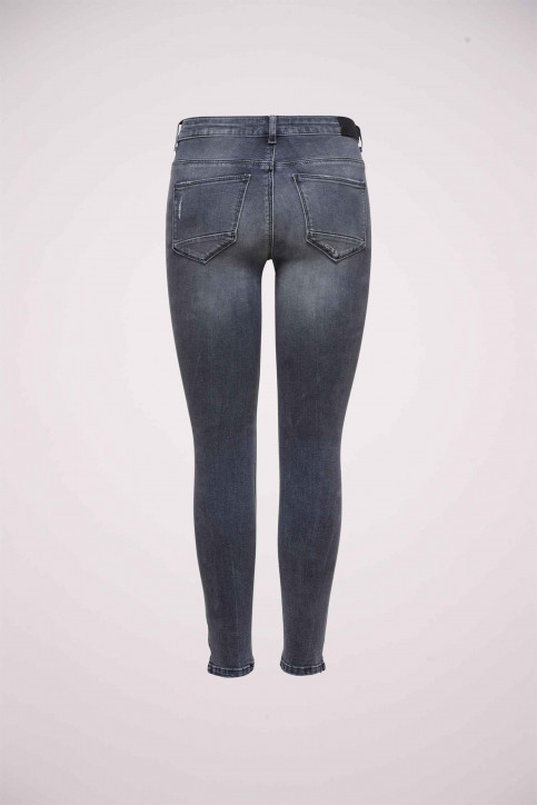 ONLY Jeans skinny gris 15170819_GREY DENIM img8