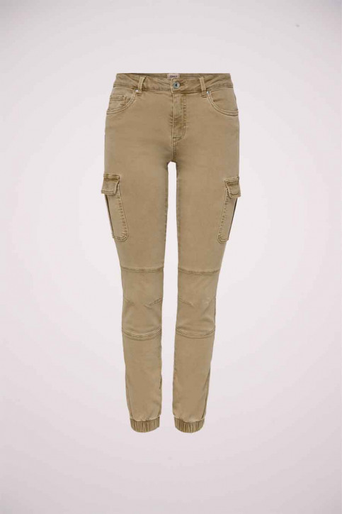ONLY Pantalons brun 15170889_TIGERS EYE img1