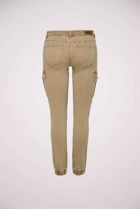 ONLY Pantalons brun 15170889_TIGERS EYE img2