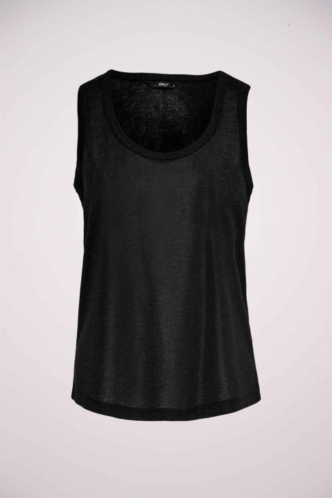 ONLY Tops (sans manches) noir 15171282_BLACK img1