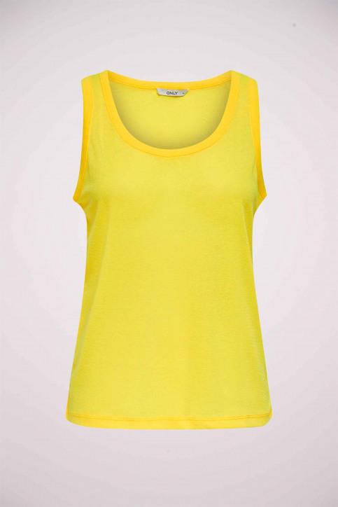 ONLY® Tops (zonder mouwen) geel 15171282_NEON YELLOW img1