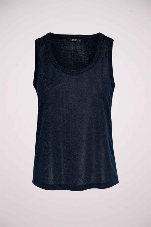 ONLY Tops (sans manches) bleu 15171282_NIGHT SKY img1