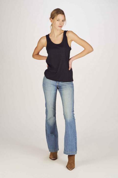 ONLY Tops (sans manches) bleu 15171282_NIGHT SKY img2