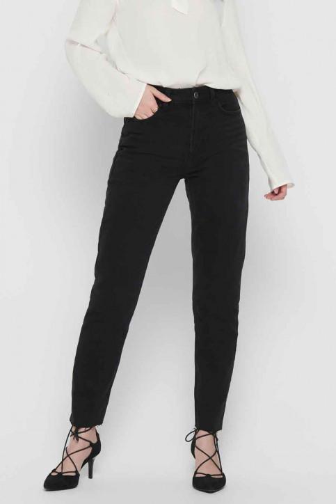 ONLY Jeans straight zwart 15171545_BLACK DENIM img1