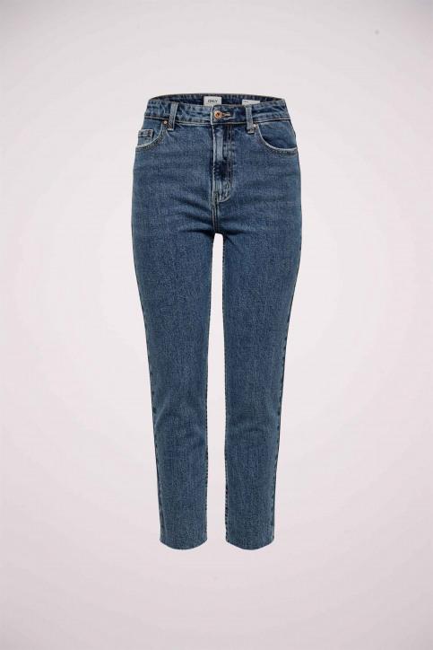 ONLY® Jeans straight denim 15171549_DARK BLUE DENIM img4