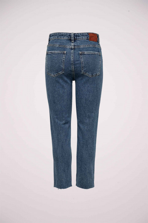 ONLY® Jeans straight denim 15171549_DARK BLUE DENIM img5