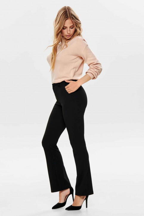 ONLY® Pantalons noir 15171664_BLACK img1