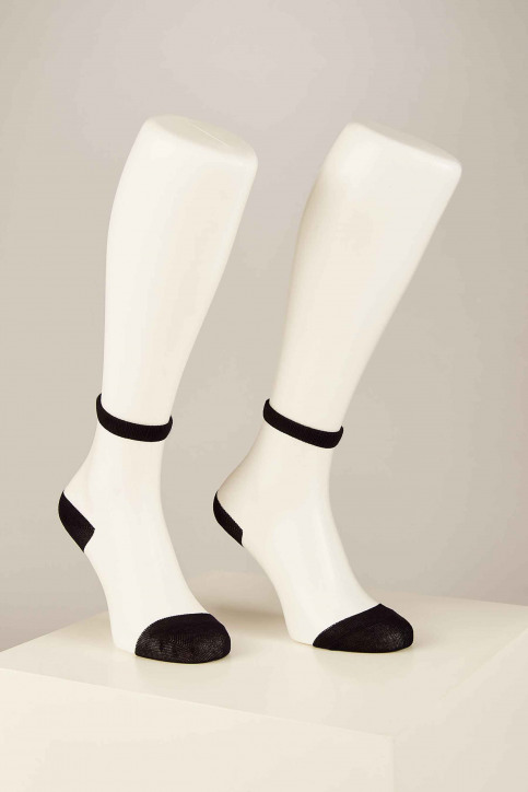 ONLY Sokken zwart 15171682_BLACK HEEL AND img1