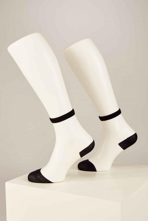 ONLY Sokken zwart 15171682_BLACK HEEL AND img2