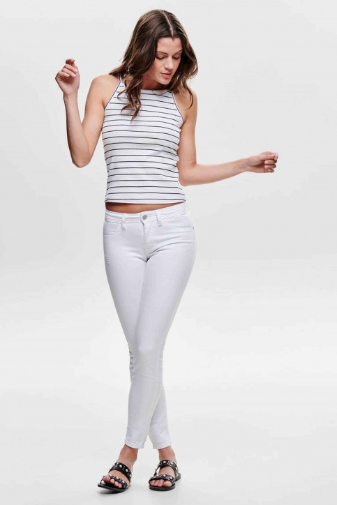 JACQUELINE DE YONG Jeans skinny wit 15172536_WHITE img1