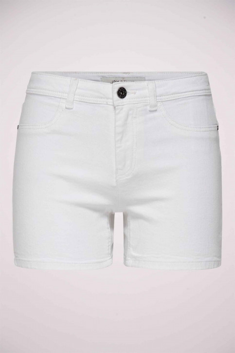 JACQUELINE DE YONG Shorts wit 15176034_CLOUD DANCER img1