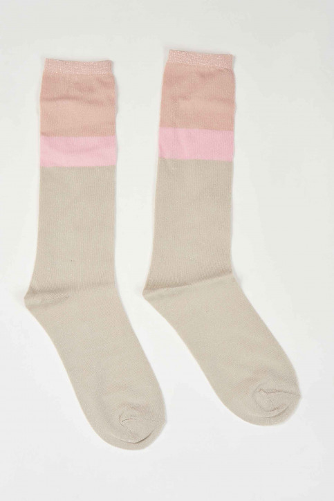 ONLY Chaussettes 15177789_MISTY ROSE BLUS img1