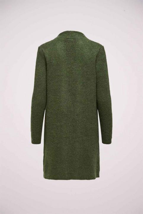 ONLY Cardigans groen 15179815_KHAKI W MELANGE img2