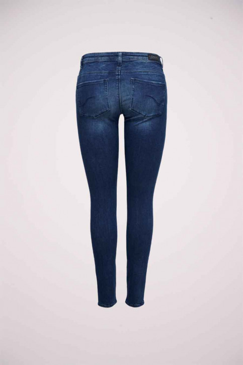ONLY® Jeans skinny denim 15182344_DARK BLUE DENIM img6