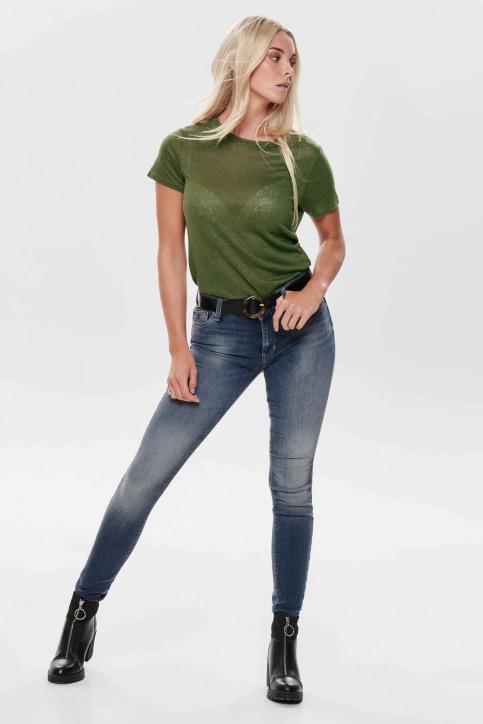 ONLY® Jeans skinny denim 15182814_DARK BLUE DENIM img2