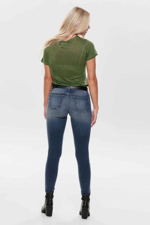 ONLY® Jeans skinny denim 15182814_DARK BLUE DENIM img3