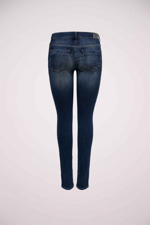 ONLY® Jeans skinny denim 15182814_DARK BLUE DENIM img6