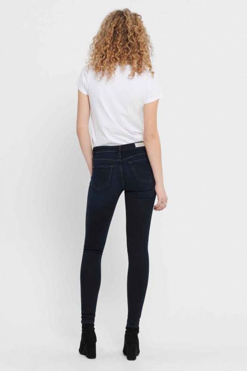 ONLY® Jeans skinny denim 15182895_DARK BLUE DENIM img3