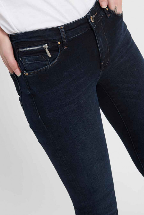 ONLY® Jeans skinny denim 15182895_DARK BLUE DENIM img4