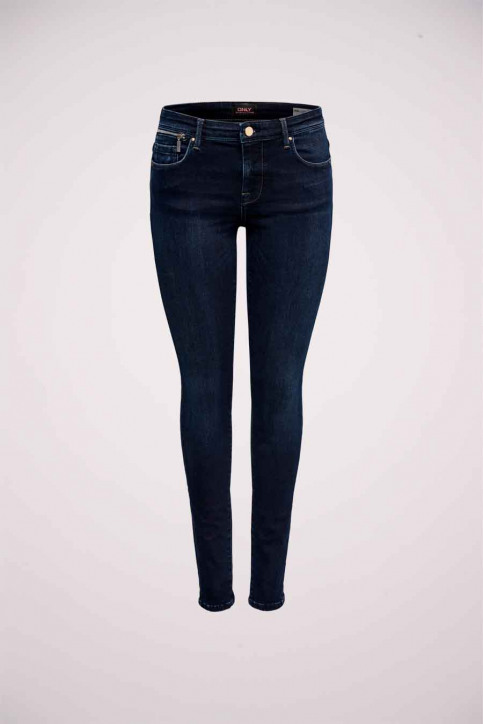 ONLY® Jeans skinny denim 15182895_DARK BLUE DENIM img5