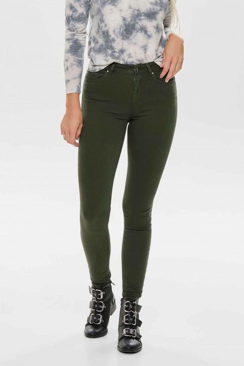 ONLY® Pantalons colorés vert 15185418_FOREST NIGHT img2