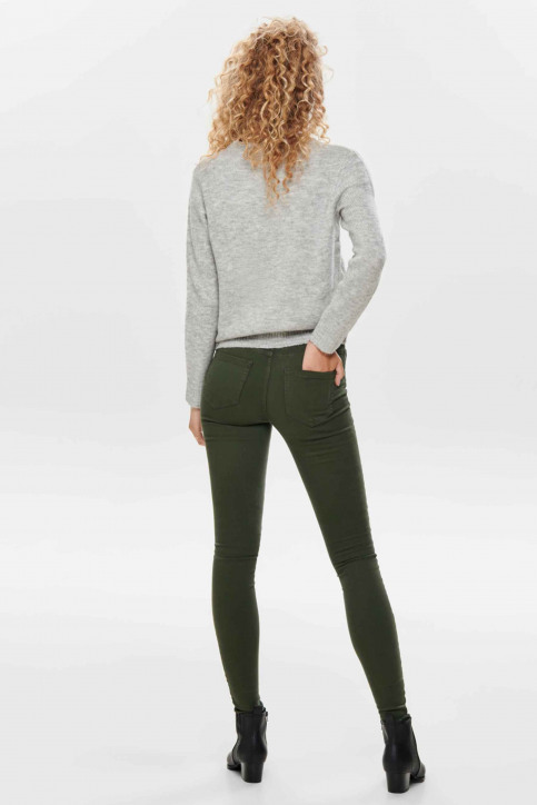 ONLY® Pantalons colorés vert 15185418_FOREST NIGHT img3