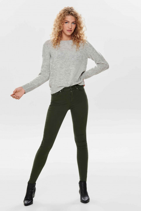 ONLY® Pantalons colorés vert 15185418_FOREST NIGHT img5