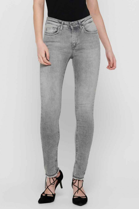 ONLY® Jeans skinny grijs 15188520_GREY DENIM img2