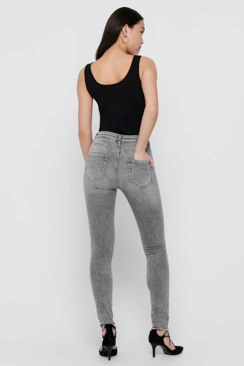 ONLY® Jeans skinny grijs 15188520_GREY DENIM img3