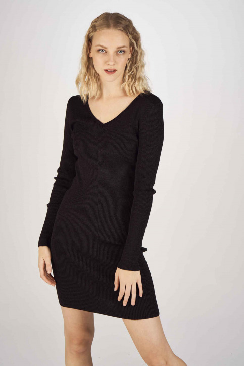 ONLY Robes longues noir 15189092_BLACK GLITTER img1