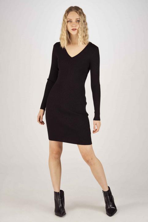 ONLY Robes longues noir 15189092_BLACK GLITTER img2