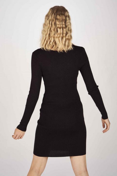 ONLY Robes longues noir 15189092_BLACK GLITTER img3