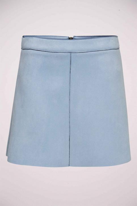 ONLY Jupes courtes bleu 15191830_KENTUCKY BLUE img4