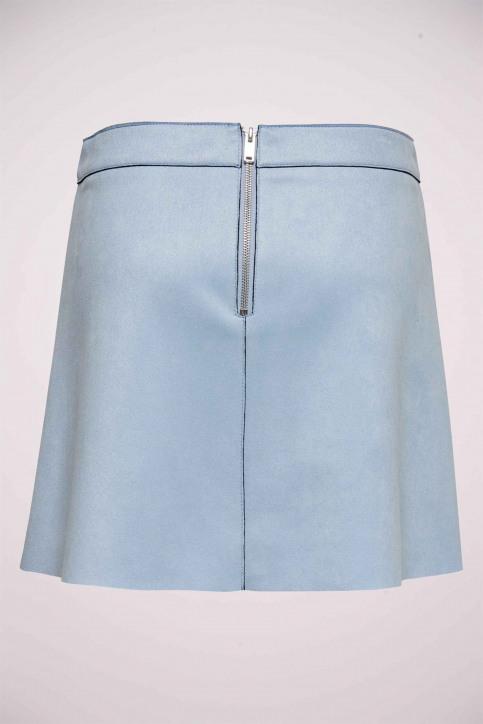 ONLY Jupes courtes bleu 15191830_KENTUCKY BLUE img5
