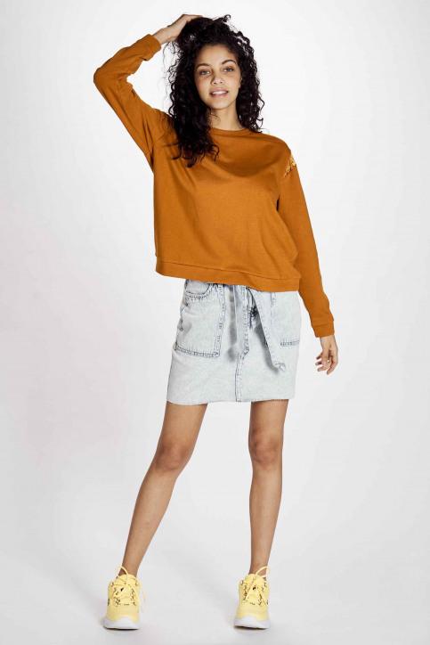 JACQUELINE de YONG Sweaters met ronde hals beige 15195448_HONEY GINGER img2