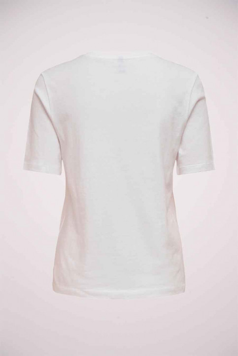 ONLY® T-shirts (korte mouwen) wit 15195777_BRIG WHI PLEASE img6