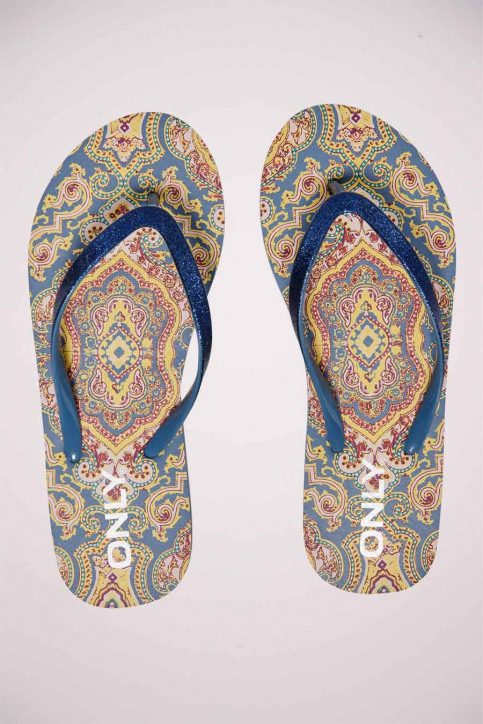 ONLY Slippers multicolor 15197293_CHINA BLUE BOHO img1