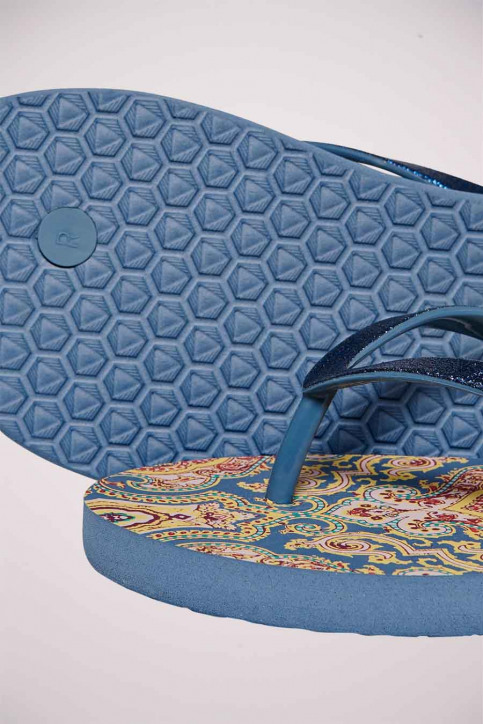 ONLY Slippers multicolor 15197293_CHINA BLUE BOHO img3
