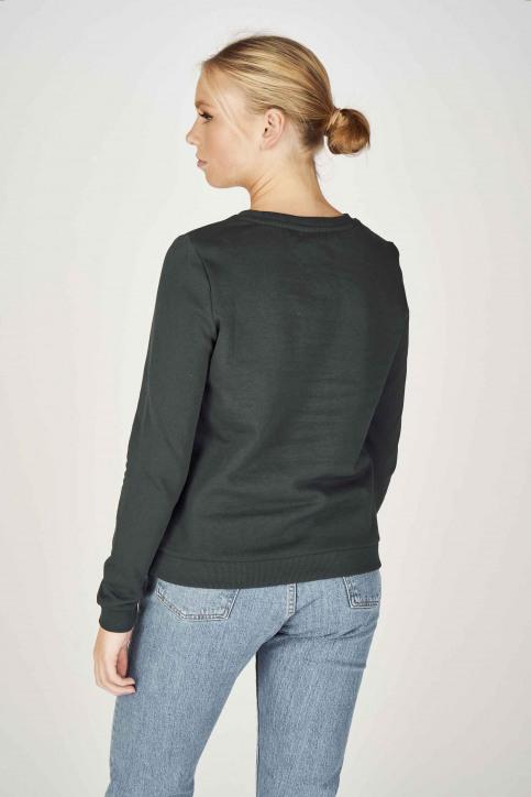 ONLY Sweaters met ronde hals groen 15198497_PONDEROSA PINE img3