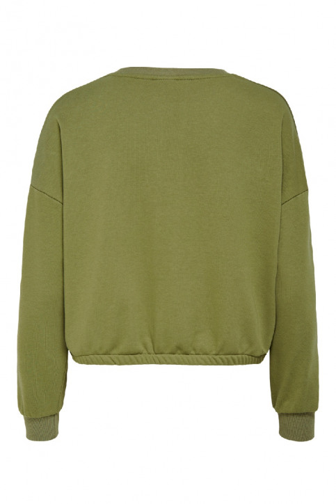 ONLY Sweaters met ronde hals groen 15198638_MARTINI OLIVE img4