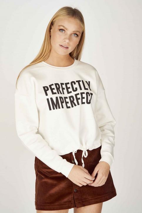 ONLY Sweaters met ronde hals ecru 15204886_CLOUD DANCER img1