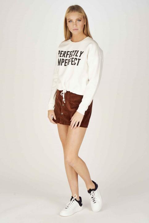 ONLY Sweaters met ronde hals ecru 15204886_CLOUD DANCER img2