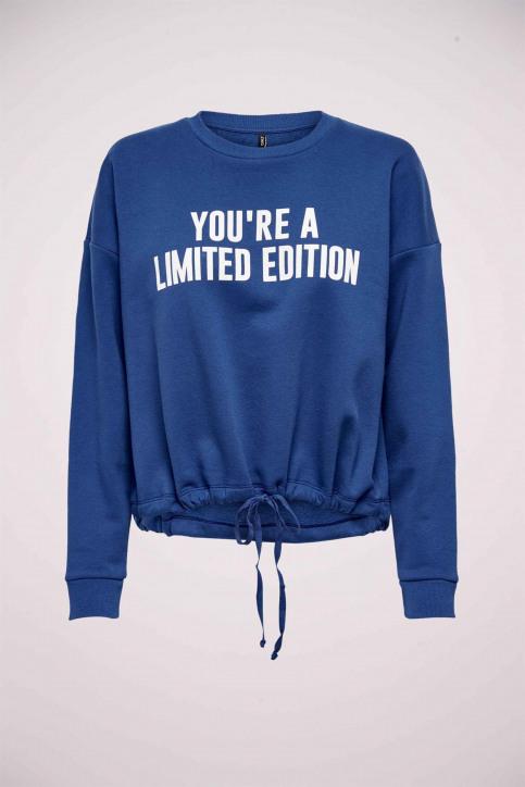 ONLY Sweaters met ronde hals blauw 15204886_MARAZINE BLUE img1