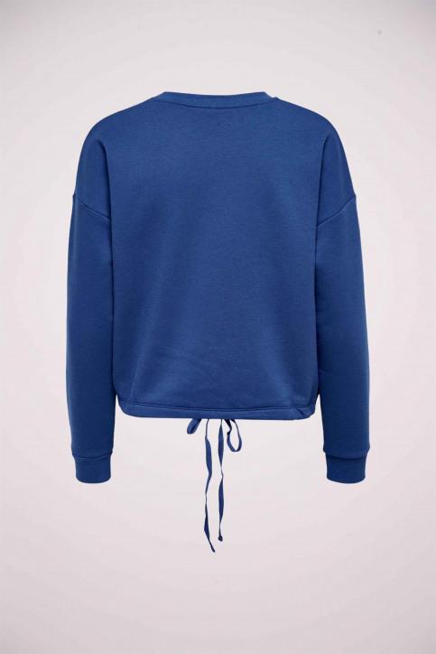 ONLY Sweaters met ronde hals blauw 15204886_MARAZINE BLUE img2