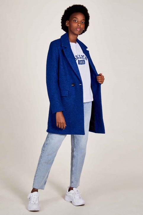 ONLY Lange jassen blauw 15205401_SODALITE BLUE M img2
